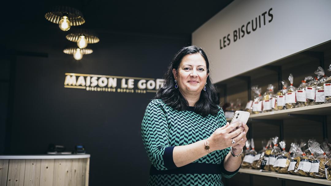 Marie-Laure Jarry, biscuiterie Le Goff